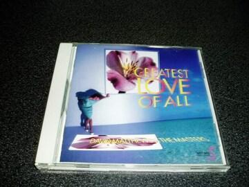 CD「デビッドマシューズ/GREATEST LOVE OF ALL」W.ヒューストン
