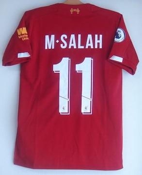 新品☆モハメド・サラー☆リバプール☆赤M11番半袖Nエジプト代表