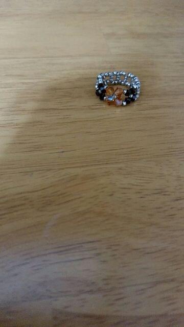 ハンドメイド指輪  < 女性アクセサリー/時計の