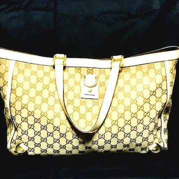 正規品!美品!A4サイズグッチ/Gucci トートバック/ハンドバッグ