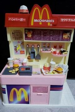 ミニチュアマクドナルドお店