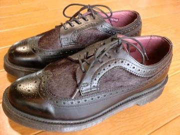ドクターマーチン ハラコ 2トーン ブーツ 25センチ 新同
