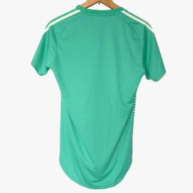 新品★送料無料◆adidas 緑TANGO CAGEプラクティスTシャツ(L) < レジャー/スポーツの