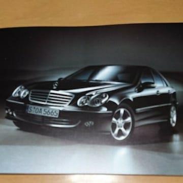 ベンツCクラスセダン&C55AMGカタログ2004/6平成16年6月