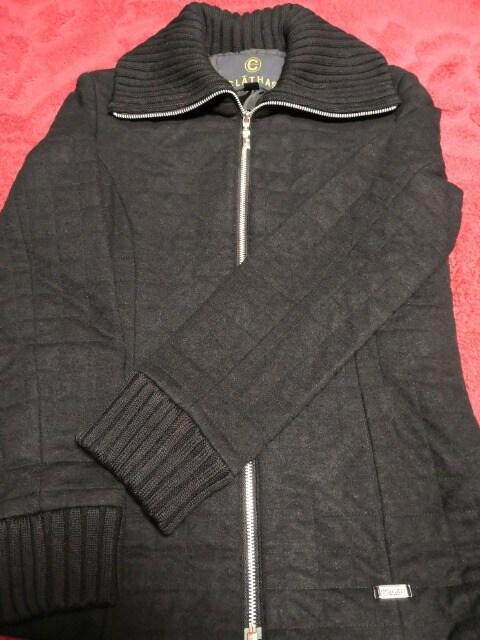 美品 CLATHAS  クレイサス キルティング コート ジャケット 黒  < 女性ファッションの