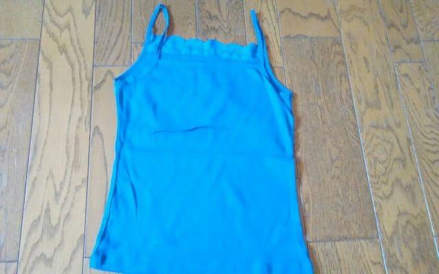 VIRGIN GRAVE ブルー 美品 キャミ < 女性ファッションの