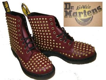 ドクターマーチン 新品 8ホール ブーツ鋲ハード14733600uk7