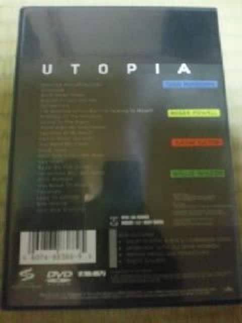 DVDソフト ユートピア ライブ・イン・ボストン1982 輸入盤 洋楽 < タレントグッズの