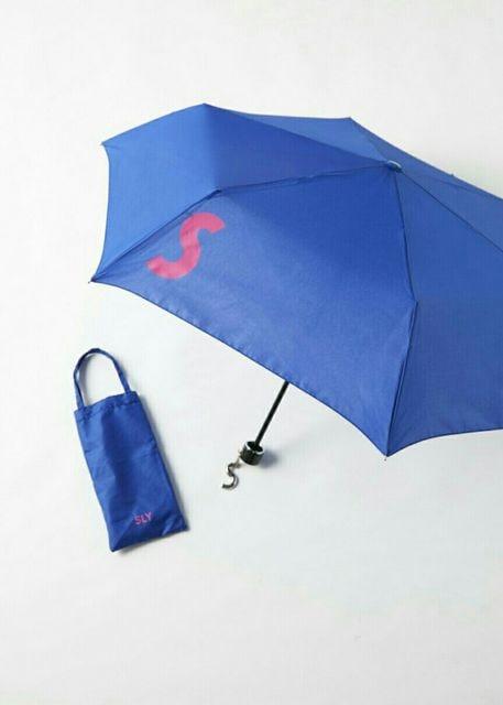 SLY ノベルティー 折りたたみ傘  < ブランドの