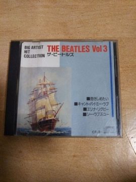 送料無【CD】 THE BEATLES Vol3 HIT COLLECTION ザ ビートルズ