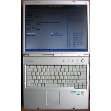 HITACHIノートパソコンPriusNote PCF-PN322Y★ジャンク