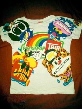 #JAM#FRESHPOP Tシャツ 130 ジャム 重ね着にも