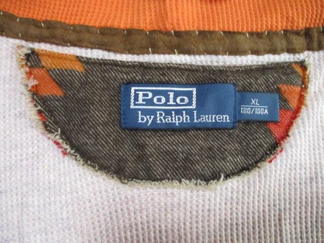 RALPH LAUREN ラルフローレン スタッズ パーカー XL < ブランドの