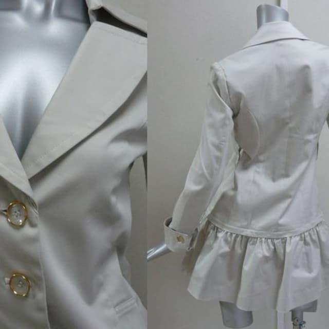 【新品★36】モルガン★2wayコート★ベージュ★定価32.000円 < 女性ファッションの