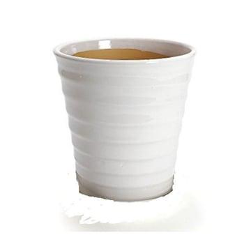 【今だけの品物】白い陶器製植木鉢3点セット 1,000円 ポッキリ