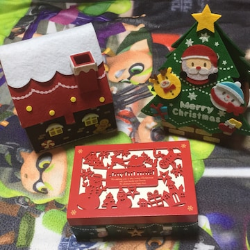 クリスマスBOX 3点セット!