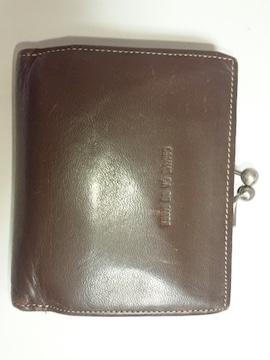 12813/コムサデモード★確実本物男女兼用でお勧め2つ折り財布