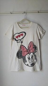 ユニクロ ミニーちゃんTシャツ