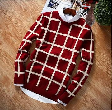 4color M〜XXXLニット セーター