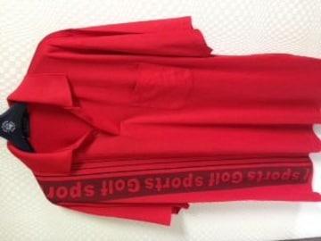 ヒューゴボス ゴルフライン 半袖ポロシャツ52新品同様