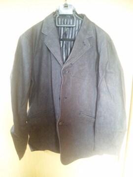 シンプルジャケット 黒 サイズL