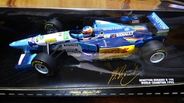 1/18BENETTONRENAULTB195  GP  France 1995
