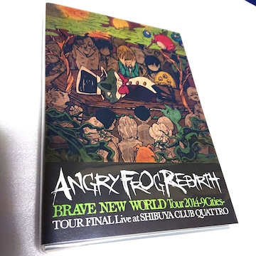 ANGRY FROG REBIRTH■DVD■LIVE■東京 渋谷クアトロ■