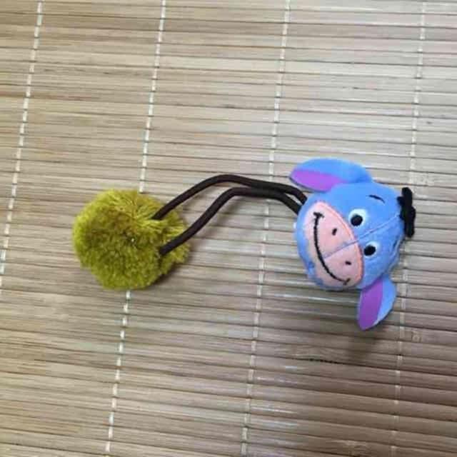 ディズニー・ピグレット&イーヨーマスコットヘアゴム < アニメ/コミック/キャラクターの