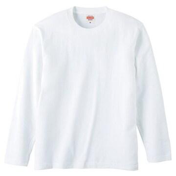 United Athle 5.6オンス ロングスリーブTシャツ ホワイト XL