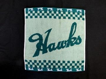 ☆【ソフトバンクホークス】HAWKS ハンドタオル・グリーン