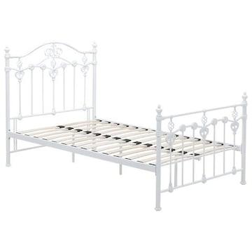 デザインベッド(ホワイト) KH-3078WH-SD