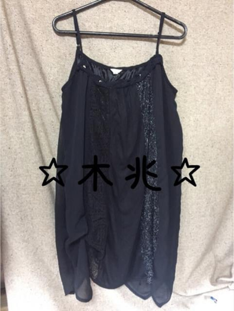 変形キャミワンピ  < 女性ファッションの