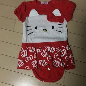 baby dollキティーちゃんロンパ80