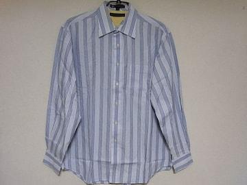 即決USA古着トミーヒルフィガーストライプデザインシャツ!ヴィンテージアメカジ