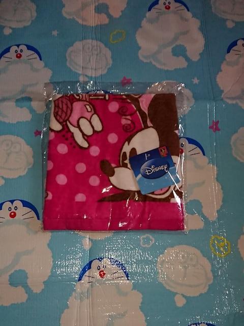ピンクのディズニータオル ミッキーとミニー可愛いタオル  < インテリア/ライフの