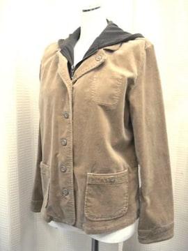 【sospita】ブラウン系コーディロイのジャケットです