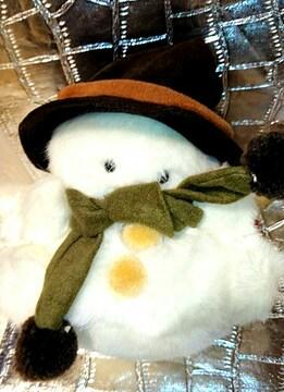 新品 当時物 チムニーワールド 雪だるま ぬいぐるみ オルゴール