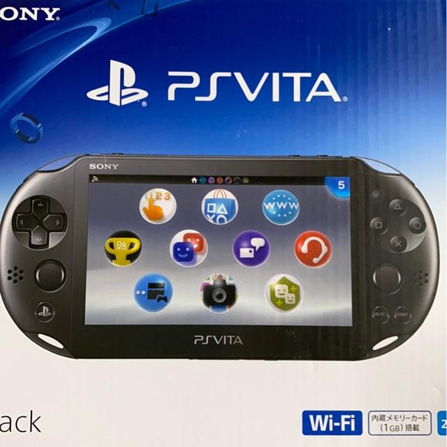★PS Vita 本体 ブラック★ ※新品未使用品※ PCH-2000  < ゲーム本体/ソフトの