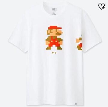 ユニクロUT・任天堂スーパーマリオプリントTシャツ