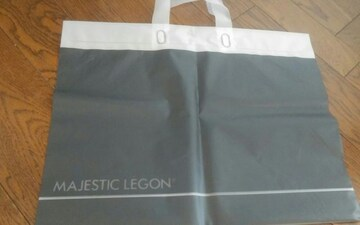 MAJESTIC LIGON ショップ袋 ビニール 美品