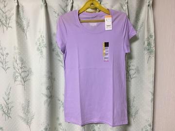 新品未使用Lサイズ紫色パープルTシャツ半袖