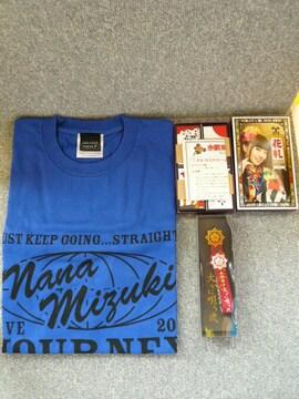 水樹奈々「Tシャツ、花札、ストラップセット」C26