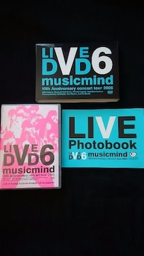 LIVE V6 musicmind 10th Anniversary concert tour 2005 DVD