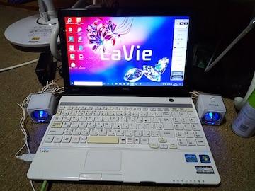 NEC Lavie LM750/F Win10 i7 250GB 4GB 難アリ