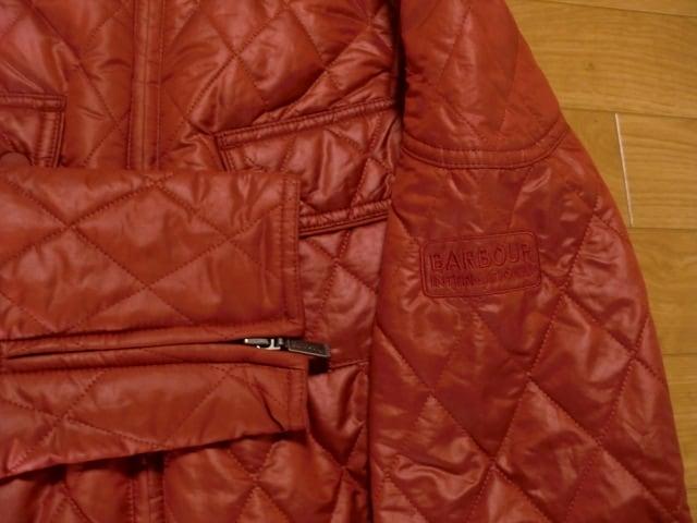 バブアー インターナショナル ジャケット レディース UK16 < ブランドの