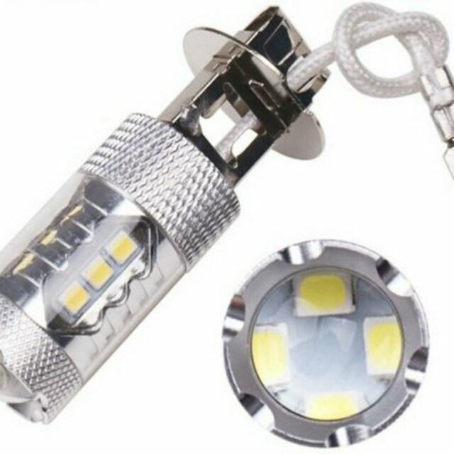 H3  LEDフォグランプ CREE製80W ホワイト12V24V兼用 < 自動車/バイク