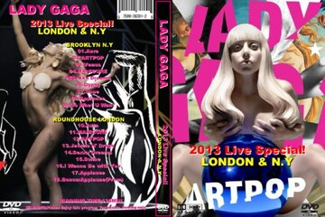 レディーガガ 2013最新LIVE! LONDON+N.Y LADY GAGA