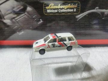リーツェ 1/87 初代 三菱シャリオ  スペースワゴン JVC ラリー#10