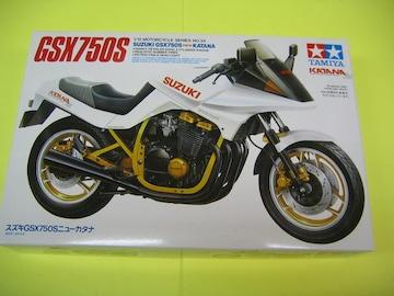 タミヤ 1/12 スズキ GSX750S ニューカタナ