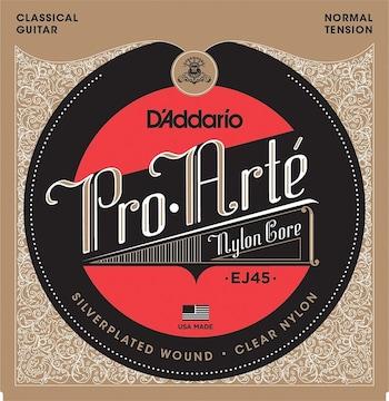 ダダリオ クラシックギター弦 プロアルテ EJ45
